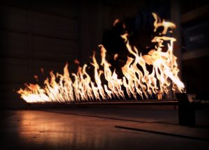 Pyro show with flames provided by Event One FX Nashville TN
