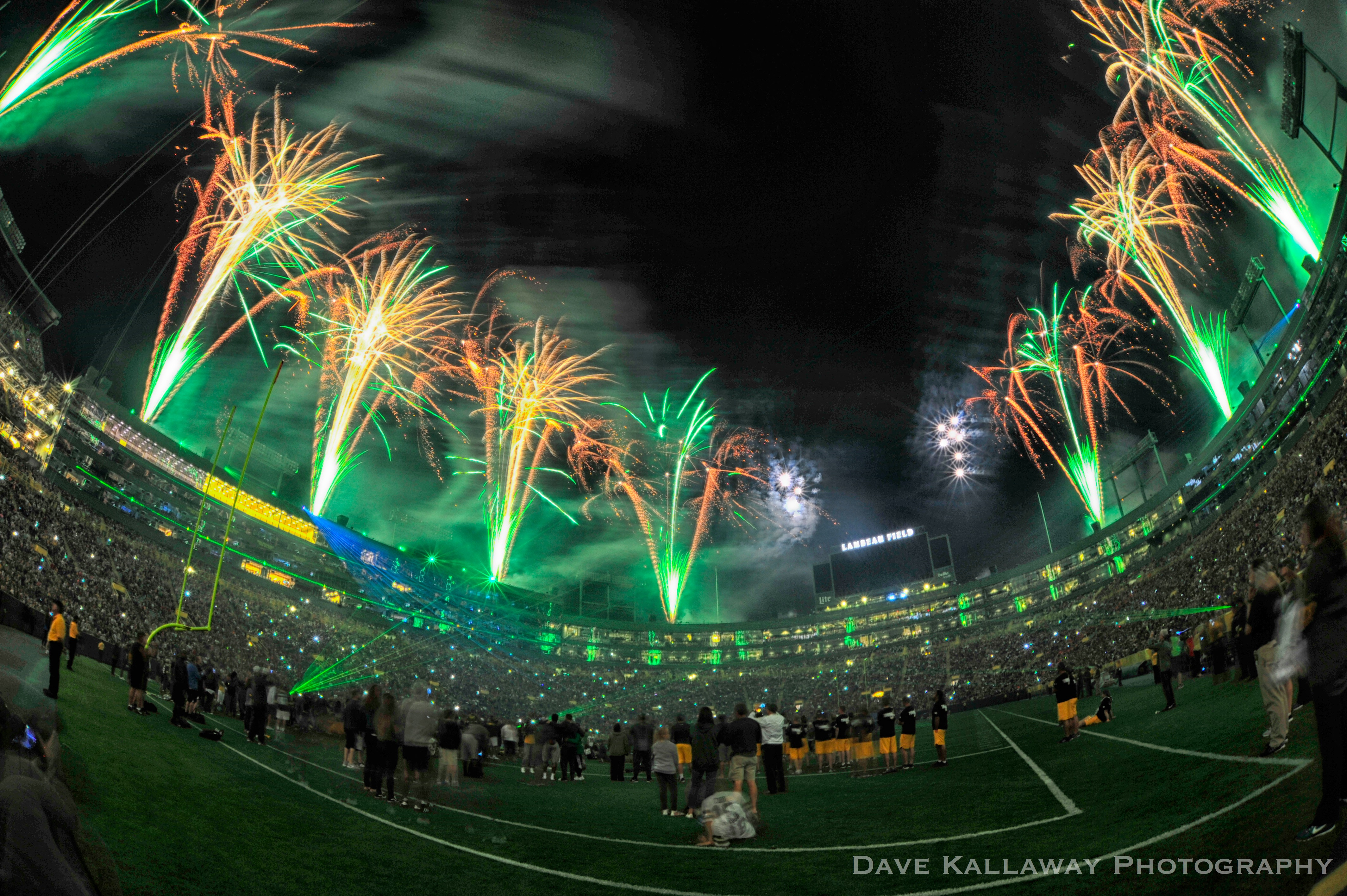 packers firework and pyro show from a nashville company